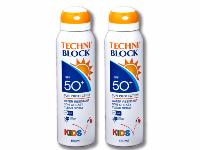 Techniblock® SPF50+ High Protection for Children 150ml x 2